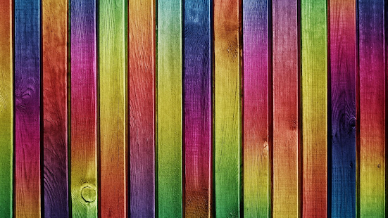 Colorful wood. Live wallpapers - screenshot