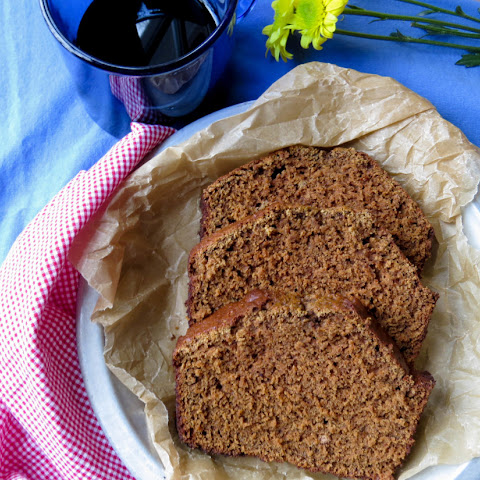 Low Fat Gluten Free Gingerbread Loaf