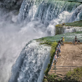 Feel the power by Kai Buddensiek - Travel Locations Landmarks ( water, pwclandmarks, niagara falls, 70-200, waterfall, landscape, usa )