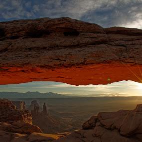 Messa Arch by Gosha L - Landscapes Sunsets & Sunrises ( nature photography, sunrise, landscape,  )