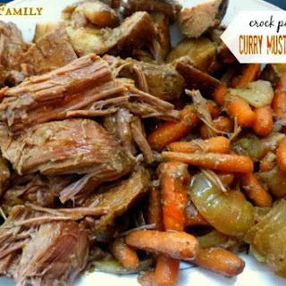 Crock Pot Roast Beef Mustard Recipes