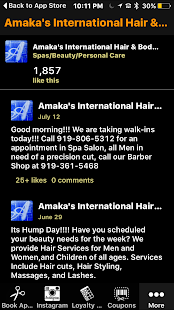 Amaka's International - screenshot