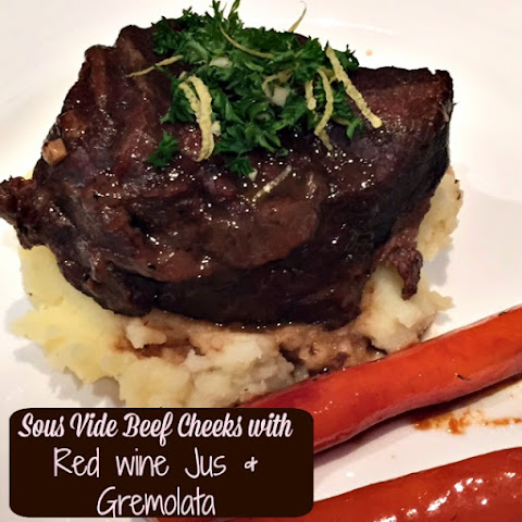 Beef Cheeks with Red Wine Jus
