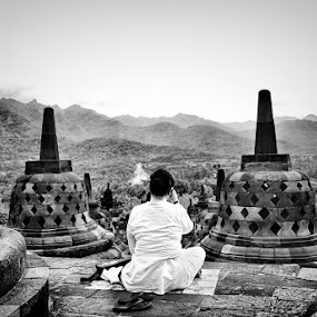 When Spirit meet Nature by Donny Koerniawan - Landscapes Travel ( nature, spirit, borobudur )
