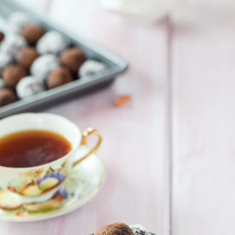 Double Chocolate Rum Booze Balls