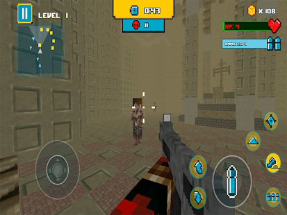 Game Cube Gun 3d - Free Mine FPS APK for Kindle