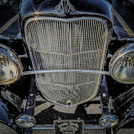 Roadster Grill by Ron Meyers - Transportation Automobiles