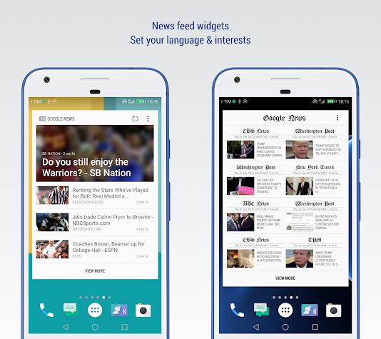 S9 for Kustom: Widget, Lockscreen & Wallpapers Screenshot