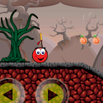 Darksy red ball : new enemies world Icon