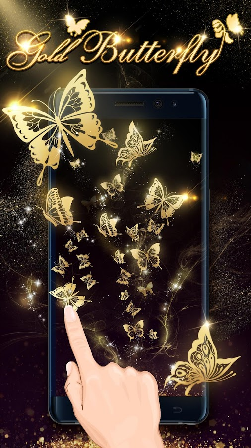 Goldschmetterling Live Wallpaper android apps download