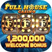 Full House Casino: Lucky Jackpot Slots Poker App icon