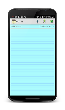 Notepad APK screenshot thumbnail 1