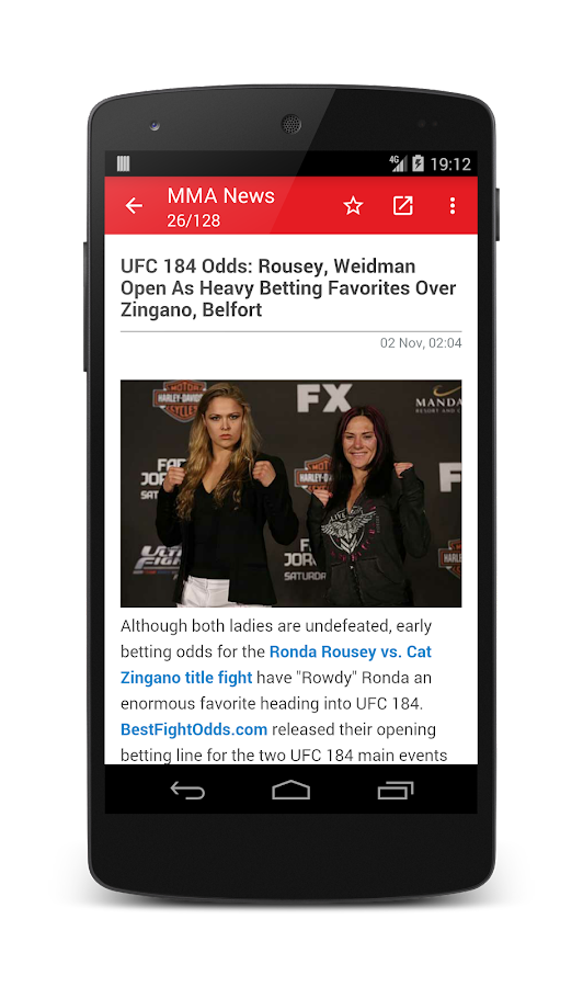 MMA News Pro Screenshot 3