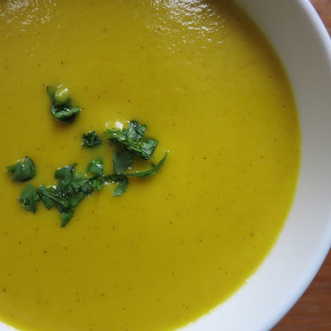 Gingered Butternut Squash Soup
