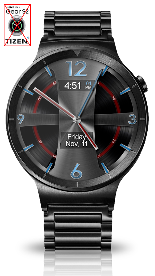 Avionic Depth HD Watch Face Screenshot 2