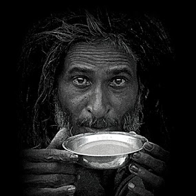 The Sip. by Anumita Das - Novices Only Portraits & People ( faces, tea, portrait )