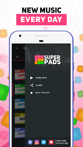 SUPER PADS - Become a DJ For PC