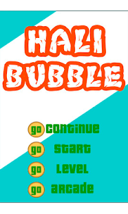 Hali bubble - screenshot