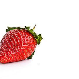 strawberry by Barbara Springer - Food & Drink Fruits & Vegetables ( berry, fruit, red, single fruit, food, strawberry,  )