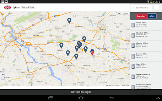 Screenshot of ENB Mobile Banking