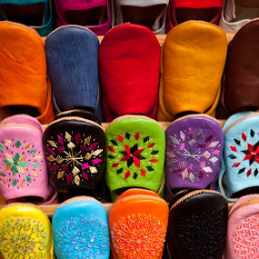 Slippers, Fes, Morocco by Peter Podolinsky - Artistic Objects Other Objects