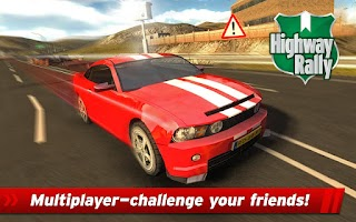 Screenshot of Highway Rally: Fast Car Racing