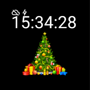 Christmas Tree Watch Face - screenshot