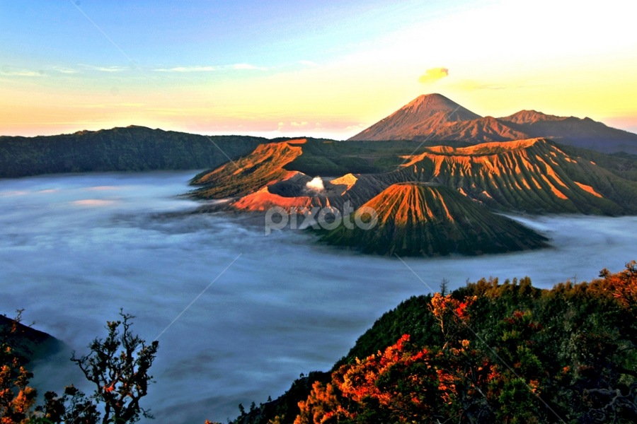Monday morning at Mount Bromo, East Java,  by Abdul Kadir - Landscapes Mountains & Hills ( pwc summer )