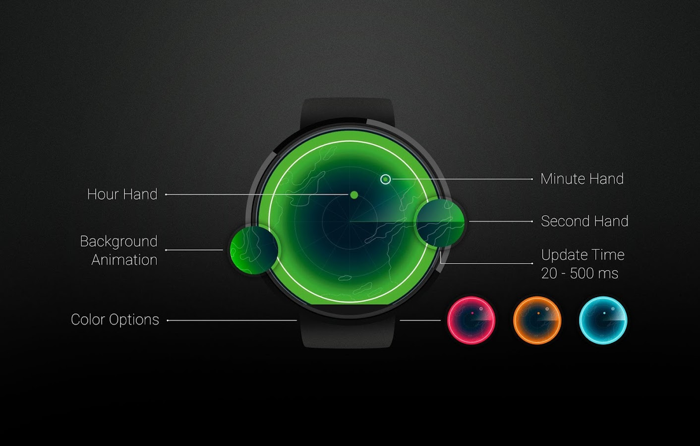 Watch Face: Sonar Screenshot 5