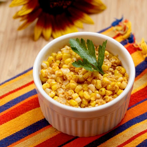 """Bobby Flay Corn"" - July Improv Cooking Challenge"