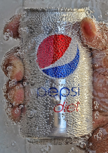 COLD DIET PEPSI by Angelito Cortez - Food & Drink Alcohol & Drinks ( product, diet, cold, ice, bubbles, cold drinks, commercial, pwccolddrinks )
