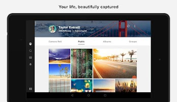 Screenshot of Flickr