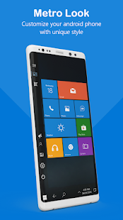 Metro Style Win 10 Launcher Screenshot