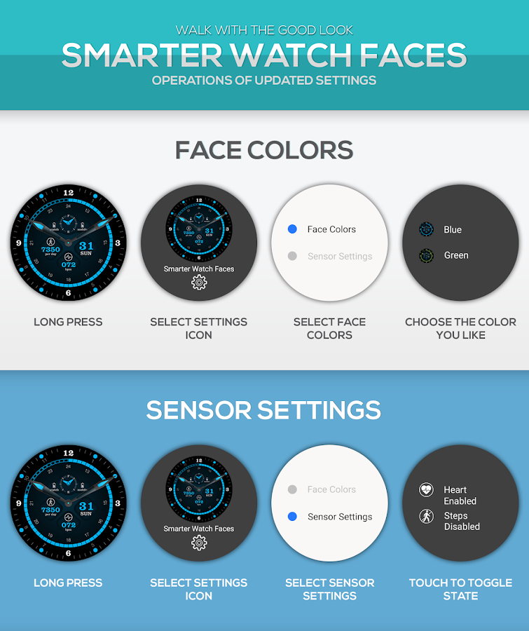 Smarter Watch Faces Screenshot 1