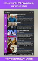 Screenshot of TV-Programm App heute
