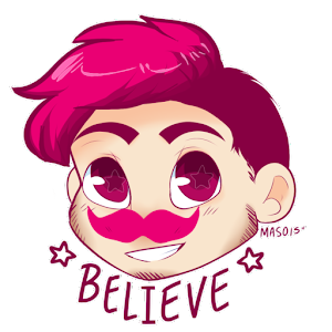 markiplier (fan art sticker) For PC