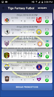 Fantasy Futbol El Salvador - screenshot