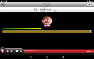 Screenshot of WavePad Master's Edition