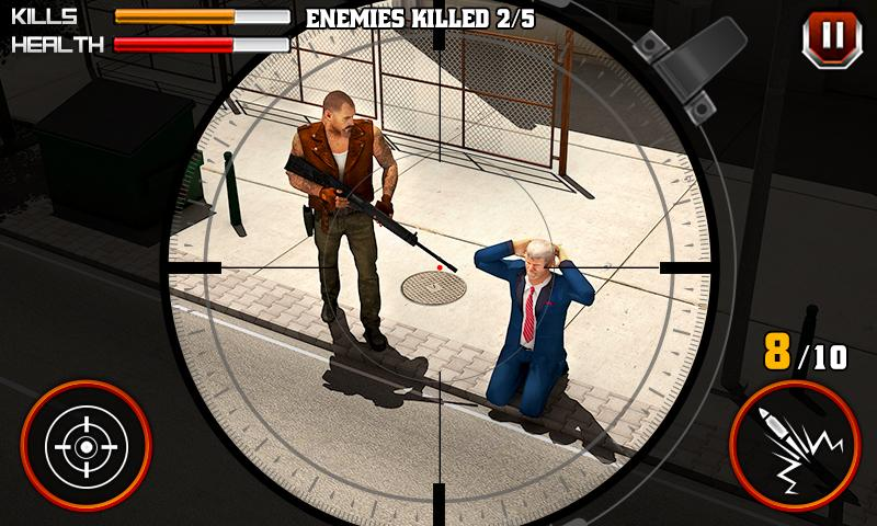 Gangster Escape Shooter 3D Screenshot 3