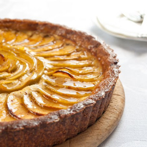 Apple Cheesecake Tart