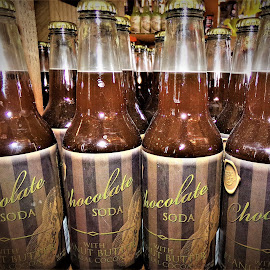 Chocolate Soda by Cheryl Beaudoin - Food & Drink Alcohol & Drinks ( real, peanut, chocolate, cocoa, butter, drink, soda, peanut butter )