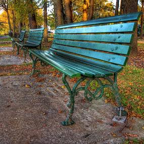 by Jean Verret - City,  Street & Park  City Parks