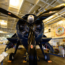Hanger Bay CVA-12 by Craig Turner - Transportation Airplanes ( ca, aircraft, mueseum, hornet, cva12 )