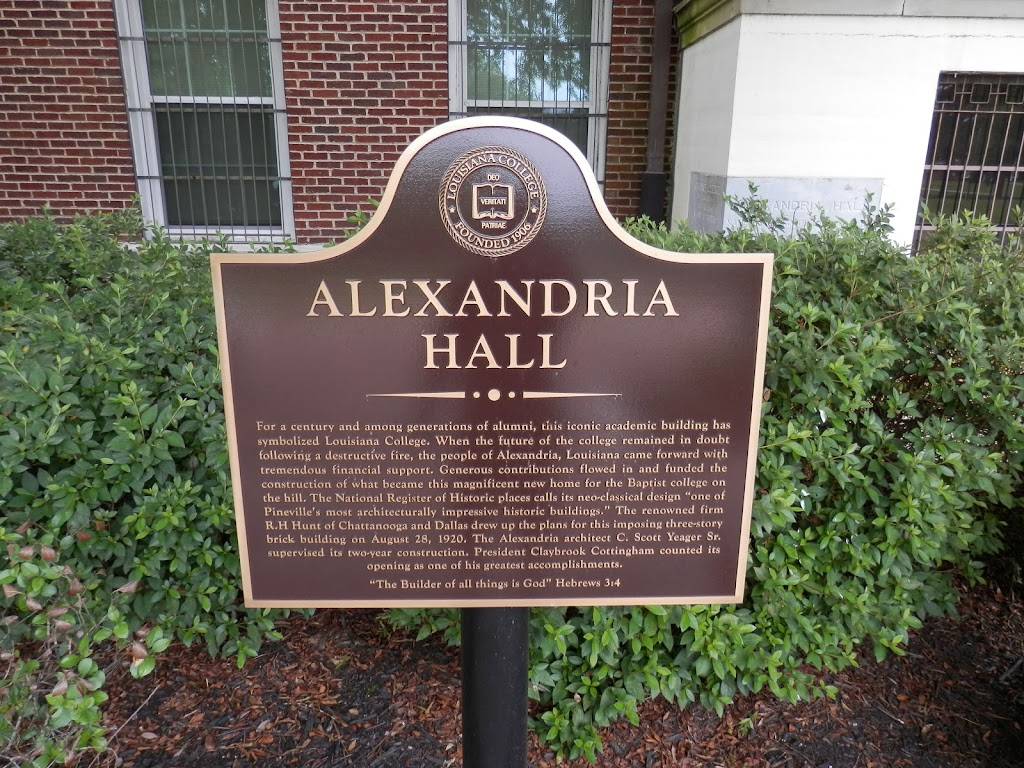 For a century and among generations of alumni, this iconic academic building has symbolized Louisiana College. When the future of the college remained in doubt following a destructive fire, the ...