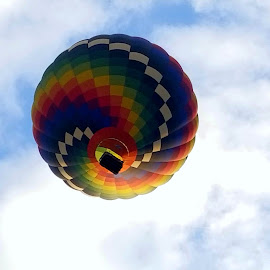 Come fly away by George Aber - Transportation Other ( sky, sky. coshocton, baloon, spiral, launch, ohio )