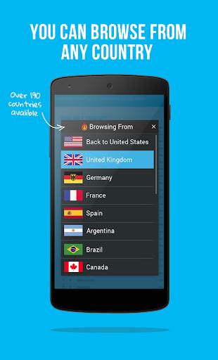 Hola Free VPN Proxy screenshot 3