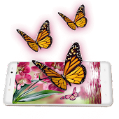 App Pink Butterfly Live Wallpaper APK for Windows Phone