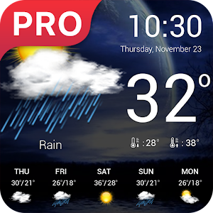 Weather forecast pro Released on Android - PC / Windows & MAC