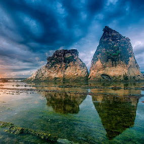 Tanjung Layar Big Rocks by Andy R Effendi - Landscapes Beaches