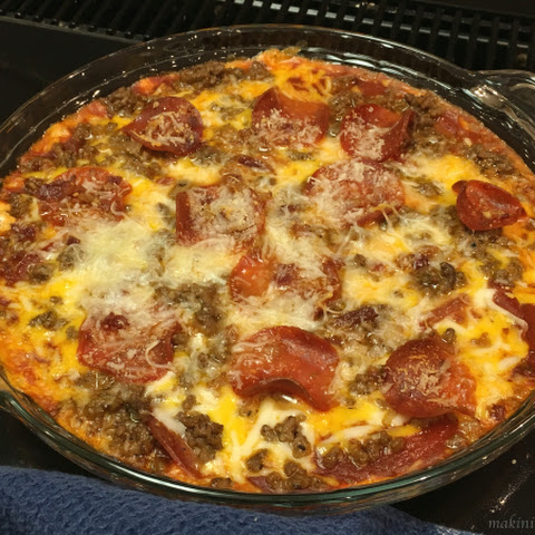 Meat Lover's Pizza Dip